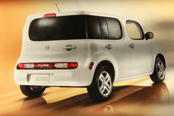 Woman in Mid-Forties Dreams Only of the Nissan Cube.